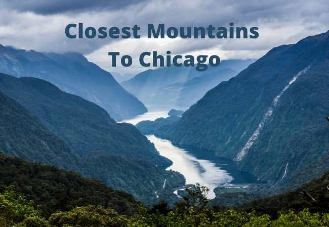 Closest Mountains To Chicago