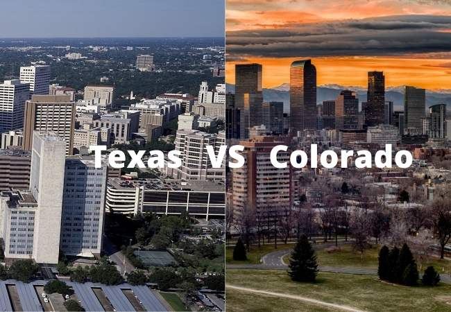 Would You Rather Live In Colorado Or Texas